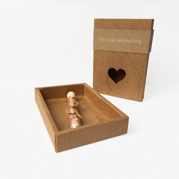 Geschenkverpackung with love