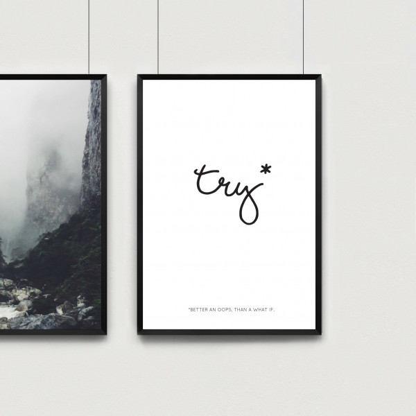 Kunstdruck try