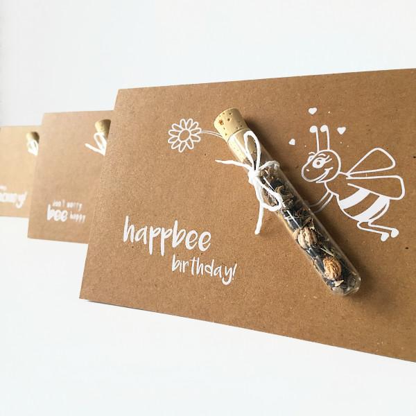 Geschenkkarte-Bee