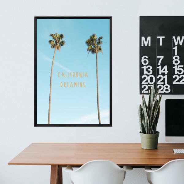 Kunstdruck california dreaming