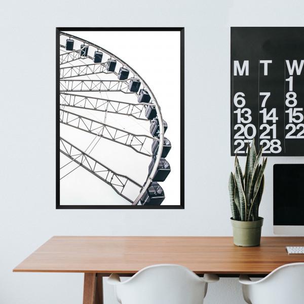 Kunstdruck Riesenrad