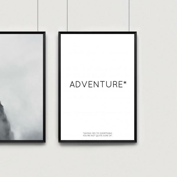 Kunstdruck adventure