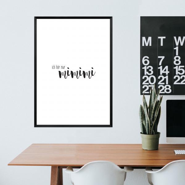 Kunstdruck mimimi